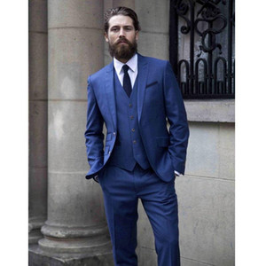 Handsome Groom Tuxedo For Wedding Party Custom Made Men Business Formal Suits C290