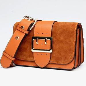 Classic Top Quality Female Bag 2016 New Tide Cowhide Brand Leather Bags Leather Handbag Ladies Fashion Leisure Shoulder Crossbody Bag