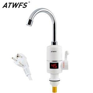 ATWFS instantâneo Hot Water Heater Toque Rápido instantânea Termostato para aquecedor de água 3000w torneira elétrica Display de temperatura