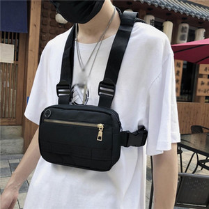 Men Hip Hop Chest Bag Outdoor Oxford Tactical Streetwear Vest Chest Rig Bags Women Functional Military Waistcoat Pack G2