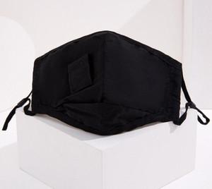 Saman Yüz Maskesi Moda Nefes Tasarımcı Solunum Koruyun Pamuk İçme Maks Delik Toz Geçirmez Yıkanabilir Yüz Ağız Kapak HWA712