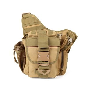 Hunting Army 600D Caméra Pack Hommes Sac Femme Sac Oxford Sac OXFORD TAILLE TACTIF TACTURE POUR CAMPING APPALEMENT ÉLALE LHGHD
