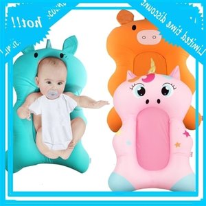 Baby Shower Tub Pad Non Slip Bathtub Mat Newborn Kids Boy Safety Cute Cartoon Bath Cushion Dropshipping