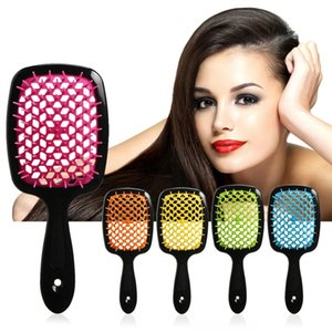 2020 Wide Teeth Air Cushion Combs Home Women Wet Curly Detangle Hair Brush Salon Hairdressing Styling Massage Comb New Hot