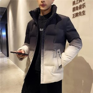 Men Winter New Warm Casual Puffy Jacket Parkas Men's Stand Collar Warm Thick Jacket Male Fashion Casual Parka Coat1