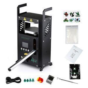 Nuovo LTQ KP-1 Rosin TECH MACCHINA DI PRESSA TECCALE 115 * 120 Dual Heat Plates Manuale Rosin DAB Press