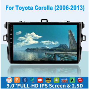 2Din Android 9.1 Car Radio Bluetooth Multimedia Player For Toyota Corolla E140   150 2006 2007 2008 2009 2010 2011 2012 2013 2din Car stereo