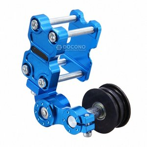 Motorcycle Chain Tensioner Bolt On Roller Chain Adjuster Automatic Motocross Refit Racing Modified Accessories Universal Tools 9HXW#