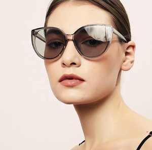 Female SunGlasses Women Round Cat Big Shades Yellow Frame Eye Top Quay Oversize Luxury Uv400 Spectacles Futuristic 2020 Bsaia