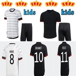 2020 2021 Kroos Ger Birçok Futbol Formaları Hummels Futbol Gömlek 20 21 Draxler Reus Yetişkin + Çocuk Suitjersey