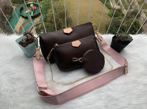 Горячие продажи нового стиль Продажа 3 шт набор дизайнеры сумка женщины Кроссбодите сумку из натуральной кожи роскошных сумок кошельки дизайнеры леди сумка