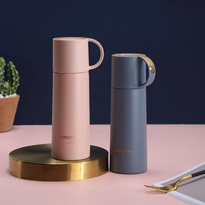 350ml Thermos Bottle Stainless Steel Insulated Water Bottle Milk Tumbler Portable Vacuum Flask Coffee Mug Travel Cup Lovers Gift