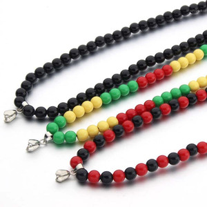 DIY Hip Hop Acrylic Beads Chain Necklace Men Rock Style Long Chain Necklace For DIY Jewelry Making Accessories Male Party Gift1