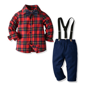 Children's Clothing 2020 Autumn Winter New Baby Boys Clothes Long sleeve + Trousers Toddler Sport Suit Kids Costume For Boys Set LJ201203