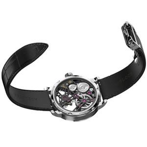 AGELOCER бизнес часы мужской скелет автоматический кло турбийон водонепроницаемый горный хрусталь механические часы мужские Relogio Мужчина для