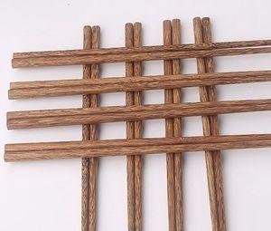 Натуральные деревянные Палочки Без лака Wax Посуда столовая Китайский классический стиль многоразовый природных суши палочками KKA8157