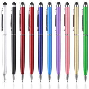 Bolígrafo bolígrafo 1 unids cielo azul simple pluma aceite plástico gel de plástico multifunción múltiple prensa tacto escuela de papelería