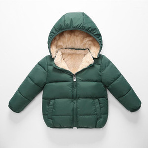 Children's Lambskin Quilted Boys' Down Jacket Cotton-Padded Clothes Girls Winter Down Coat Kids Outfits Children's Warm Clothing1