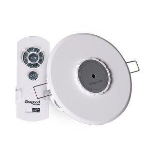 Geagood Digital Remote Control Switches 4 modi Ricevitore rotonda telecomando ad infrarossi Ricevitore per l'illuminazione Negozi Exhibition Booth Displays