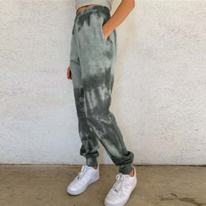 y1ru Sexy women clothing streetwear track pants printing sports womens womans pants hip leggings yoga plus size clothes sweat pants for fash