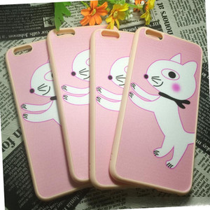 For Iphone 6s plus Soft TPU Case Ultra Thin Candy Colors Soft Silicone Rubber Gel Phone Case Back Cover For 6S Plus 6S 5S Slim cheap Case