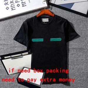 19ss classici uomini della maglietta con cappuccio lettere moda felpa estate T stampato manica corta donne maglione abbigliamento street wear