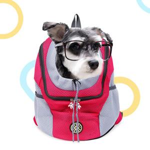 الحيوانات الأليفة على ظهره حقيبة الكلب الكتف الصدر المحمولة اللوازم السفر الكلب وسادة هوائية الحيوانات الأليفة على ظهره حقيبة الديكور