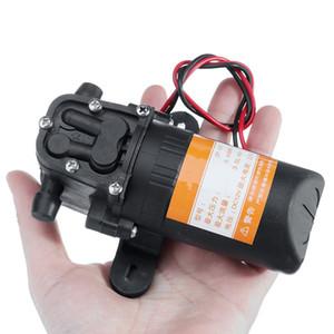 DC 12V 70PSI 3.5L min Agricultural Electric Water Pump Black Micro High Pressure Diaphragm Water Sprayer Pump Car Wash