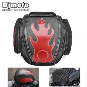 Хвост Bjmoto Мотоцикл Скутер Рюкзак расширяемый шлем сумка Седло багажа Сумка седельных Шлем Moto Side Hard седельных мотоциклов ДОФА #