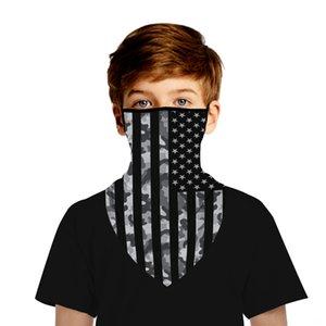 Американский национальный висячие Digital Outdoor Детского одежды Открытой Печать Mul Полотенце Triangle Flag Спорт Спорт Треугольник ухо Маску Gcqx
