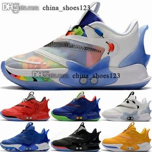 Kadınlar Ucuz Çocuk Schuhe Kutusu Boyutu Ile ABD Spor Ayakkabı Beyaz Sneakers Basketbol 13 Eğitmenler 38 EUR Erkekler 2s 47 46 12 ADAPT BB 2
