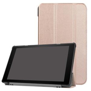 Per Amazon Kindle Fire 7 2019 2015 2017 HD 8 HD 2016 2017 Fire 10 cuoio flip wallet PU TPU Case Tablet