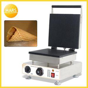 Crème glacée commerciale cornet gaufre Maker antiadhésif cornet gaufre Baker électrique 110V / 220V Maker / machine Waffle