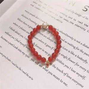1UDa3 Ciondolo ragazza agata benmingnian cristallo Little Love amiche perle naturali aga ragazza benmingnian Piccola rosso braccialetto di cristallo naturale b