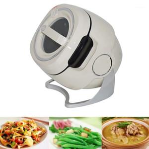 6L inteligente máquina de fritura de cozinha cozinhar fogão de arroz automático agitação fritadeira cozinhar pote robô fogão fritar1