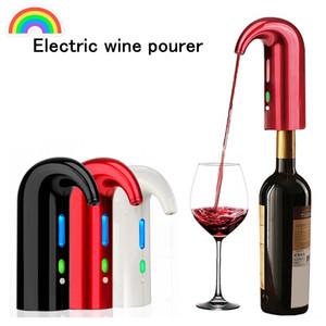 الذكية النبيذ الكهربائية المدفق الذكية النبيذ decanter التلقائي النبيذ الاحمر pourer مهوية dectator موزع شريط الملحقات