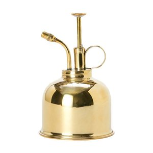 300ml Mini Brass Retro Copper Plant Flower Watering Can Pot Spray Bottle Garden Sprayer Gardening Tool Watering & Irrigation TB