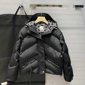 Women Designer jacket Coat Top Quality Women Hooded Winter Warm Parkas Fashion Women Jacket Black Beige with Labels dust bags 34 36 38