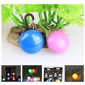 Pet Led Light Pendant Bell Dog Cat Waterproof Dog Illuminated Collar Safety Night Walking Lights Dog Pendants Flas jllMTV eatout