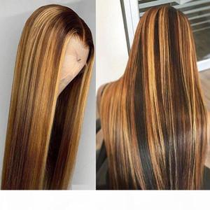 Allove Péruvien Hair Droit 4x4 Dentelle Fermeture Perruque Human Hair Dentelle Perruques frontales Brésilien Deep Burly Wave Perruques de cheveux humains