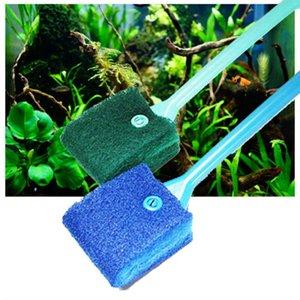Wholesale Practical Low Price 400mm New Aquarium Fish Tank Algae Cleaner Glass Scraper Brush Plant Easy Head Cleaning Brush 40cm