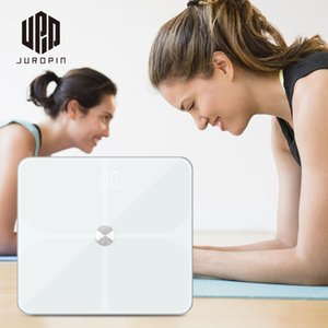 Guangzhou Juropin New Wifi Smart Scale With Fashion Design Body Fat Scale Analyzing Human Datas Amazon Best Seller