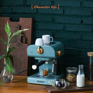 Coffee Machine Home Full-automatic Italian Coffee Maker Small Commercial Cafetera Steam Integrate Espresso Machine for home