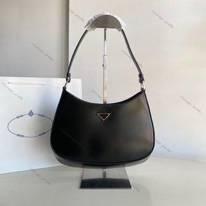 2020 Top Quality Real Couro Mulheres Cleo Escova Tote Nylon Leather Designer de Luxo Homem Mulher Bolsa de Ombro Hobo Crossbody Bags Bolsas