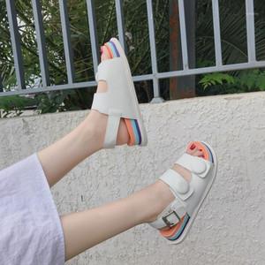 CinessD Plataforma Sandalias Mujer zapatillas Zapatos Mujer Sandalias 2020 Roma Zapatos de verano Mujer Sandale Sandale Sandles Mujeres New1