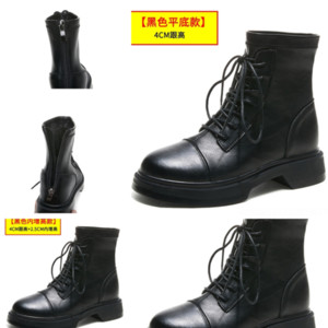 WUn Designer Rick Leather boots Boots Women Owens Boots Winter Snow Men Fashion Trainer Shoes Famous Sneakers Motorcycle White Black Boot