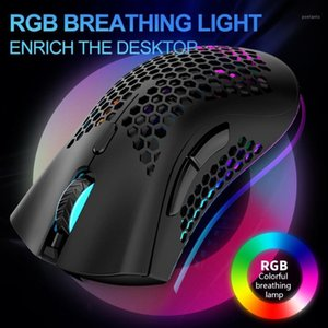 Lightweight Gaming Mouse Honeycomb Wireless Ergonomic Mice for Computer1