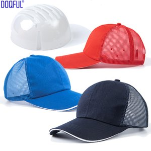 Breathable Light Crash Safety Helmet ABS Shell Netted Baseball Cap Anti-smashing Riding Workplace Work Security Head Protective Hat