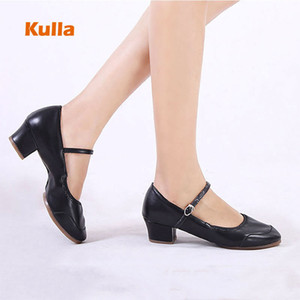 Dancing Shoes For Women Soft Sole Latin Ballroom Dance Shoes Ladies Practice Dancing Shoes Middle Heels Female Dance Sneakers 201017