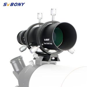 SVBONY 50 mm Guide Portée Finderscope CCD image Guide Portée w / Support 1,25 Double Helical Focuser pour l'astronomie monoculaire Telesc